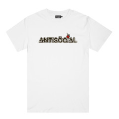 Футболка Antisocial Molotov White