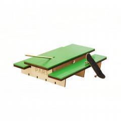 Фингерпарк PARS P-Table деревянный зеленый верх