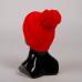 Шапка LES FF Pom-Pon Red